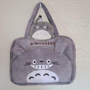 My Neighbor Totoro Bag & Wristlet Bundle